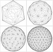 From Icosahedron To The Ball ...