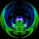 Abstract Magical Ball
