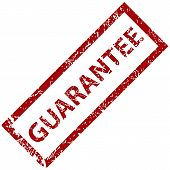 Guarantee grunge rubber stamp