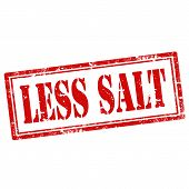 Less Salt-stamp