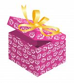Holiday Patterned Gift Box