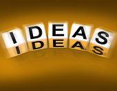 Ideas Blocks Displays Thoughts Thinking And Perception