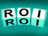 Roi Blocks Displays Financial Return On Investment