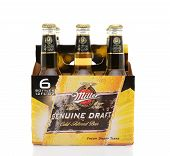 Miller Genuine Draft Six Pack Side
