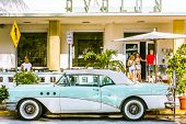 Classic Car Chrome Radiator Grill Parks At Ocean Drive