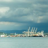 Port of Koper, Slovenia, Europe.