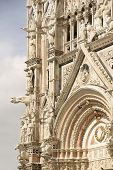 Siena Cathedral, Dedicated To The Assumption Of The Blessed Virgin Mary .siena