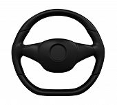 picture of steers  - Steering Wheel isolated on white background - JPG