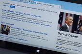 Barack Obama Wiki Page