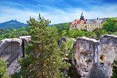 Hruba Skala Castle, Bohemian Paradise Region, Czech Republic, Europe
