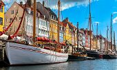 New harbour in Copenhagen, Denmark