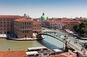 Venice Cityscape And The Constitution Bridge