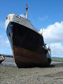 Beached Trawler