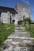 Church England Medieval Parish Bramber poster