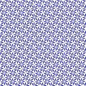 Blue And White Decorative Swirl Design Textured Fabric Background