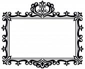 Ornate Black Frame