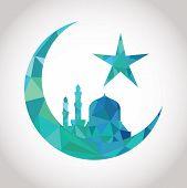 Colorful mosaic design - mosque