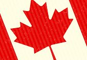 image of canada maple leaf  - Maple Leaf Canada Flag Abstract Vector Background - JPG