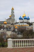 Holy Trinity Sergius Lavra. Sergiev Posad. Moscow region