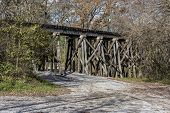 Railroad Trestle In The Ozone Falls State Area