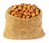 Chick-peas In Sack Bag