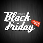 stock photo of special day  - Black Friday Sale poster element - JPG