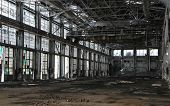 Abandoned Engine Hangar