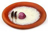 Traditional Water Soaked Rice Of Bangladesh