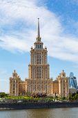Moscow, Stalin Skyscraper