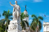 The Jose Marti Monument at Central Park in Havana