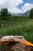 Open Book In The Mountain