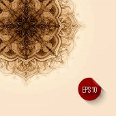 foto of decorative  - Vector background - JPG