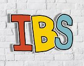 IBS Letter on Brick Wall in the Back