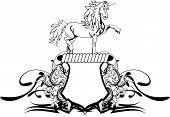 heraldic unicorn coat of arms crest6