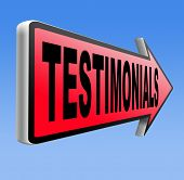 testimonials customer feedback testimonial or leave a comment arrow sign