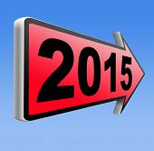 next year 2015 new start happy new year