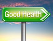 good health, healthy lifestyle and food