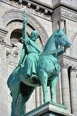 Equestrian Statue of Saint Louis