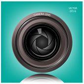 Creative camera lens sign