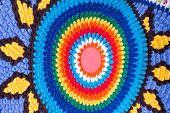 Multi Color Fabric Texture
