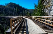 pic of trestle bridge  - Myra Canyon - JPG