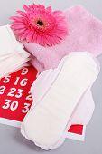 image of menses  - Sanitary pads - JPG