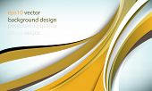 eps10 vector overlapping tangled thick lines elements modern business background
