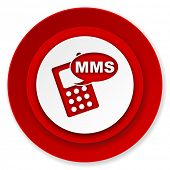 mms icon, phone sign