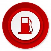 petrol icon, gas station sign