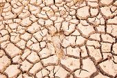 Drought Land, Cracked Earth.
