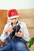 Teenager Checks The Wallet