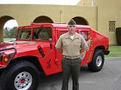 MARINE WITH HUMMER