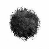 pic of color spot black white  - Colorful watercolor circle black drop on a white background - JPG