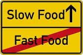 ������, ������: Slow Food and Fast Food
